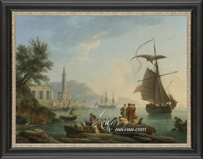 French Neoclassical Painting, after Claude Joseph Vernet