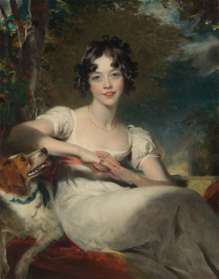 Lady Maria Conyngham, c.1820, Oil on Canvas