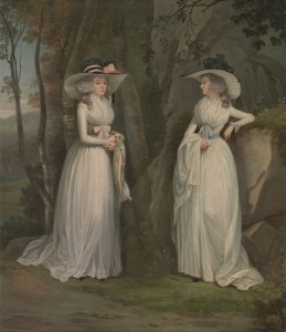 Eleanor and Margaret Ross, c.1790, Oil on Canvas