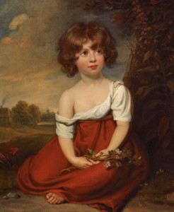Portrait of Elizabeth Brudenell, c.1820, Oil on Canvas