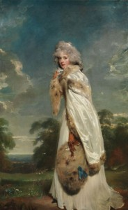 Elizabeth Farren, Countess of Derby, c.1790, Oil on Canvas