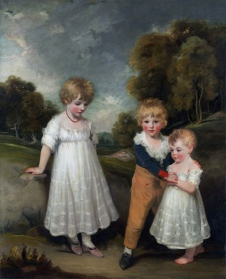 The Sackville Children, c.1796, Oil on Canvas