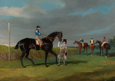 Racehorse Skeleton at the Doncaster Gold Cup, c.1825, Oil on Canvas