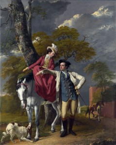 Mr. and Mrs. Thomas Coltman, c.1770, Oil on Canvas