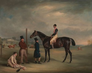 Euxton, with John White Up, at Heaton Park, c.1829, Oil on Canvas
