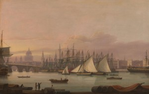 The Port of London, c.1798, Oil on Canvas