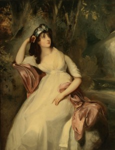 Full Length Portrait of Sally Siddons, c.1805, Oil on Canvas