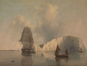 Off the Needles, Isle of Wight, c.1845, Oil on Canvas