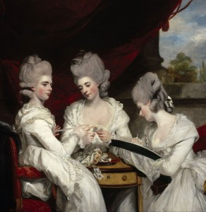 The Ladies Waldegrave, c.1780, Oil on Canvas