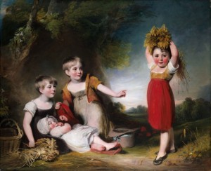 The Grandchildren of Sir William Heathcote, c.1810, Oil on Canvas