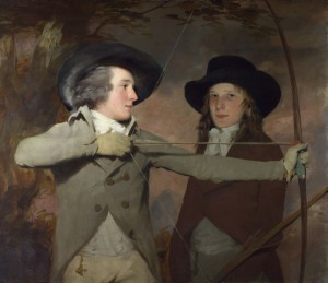 The Archers, c.1789, Oil on Canvas