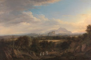 A View of Edinburgh from the West, c.1826, Oil on Canvas