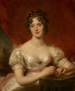 Portrait of Mary Anne Bloxam, c.1824, Oil on Panel