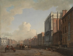 Whitehall in London, c.1775, Oil on Canvas