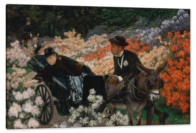 The Morning Ride, c.1880, Oil on Canvas
