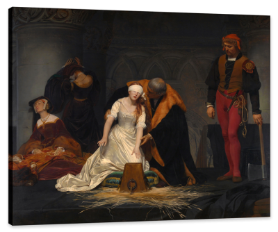 The Execution of Lady Jane Grey, c.1833, Oil on Canvas
