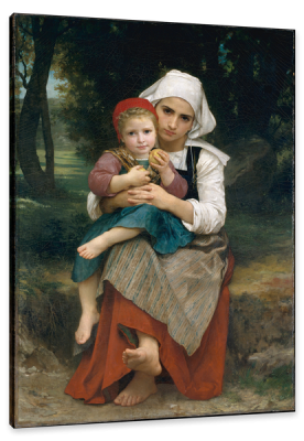 Breton Brother and Sister, c.1871, Oil on Canvas