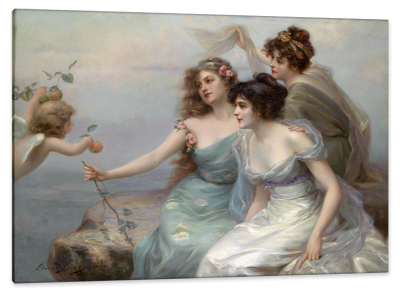 The Three Graces, c.1899, Oil on Canvas