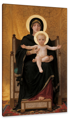 Virgin and Child, c.1890, Oil on Canvas