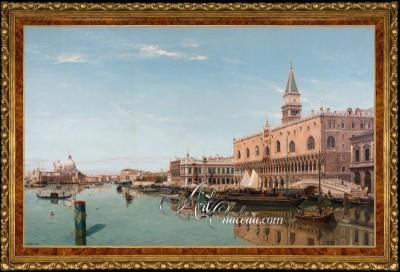 The Doge's Palace in Venice, after Jean Baptiste Van Moer