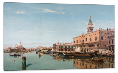 Venice, The Doge's Palace and Piazzetta di San Marco, c.1879, Oil on Canvas