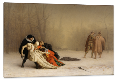 The Duel After the Masquerade, c.1857, Oil on Canvas