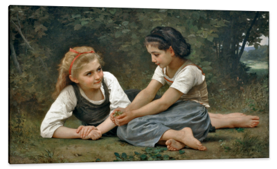 The Nut Gatherers, c.1882, Oil on Canvas
