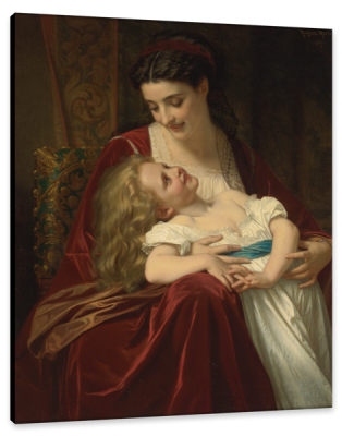 Maternal Affection, c.1867, Oil on Canvas