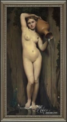 La Source, after Jean Auguste Dominique Ingres