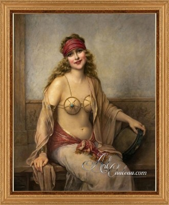 Seduction, after French artist Francois Martin Kavel