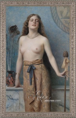 Orientalism Painting, after Max Nonnenbruch