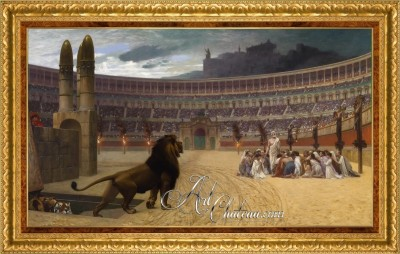 Christian Martyrs, after Jean-Leon Gerome