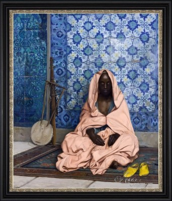 The Poet, after Jean-Leon Gerome