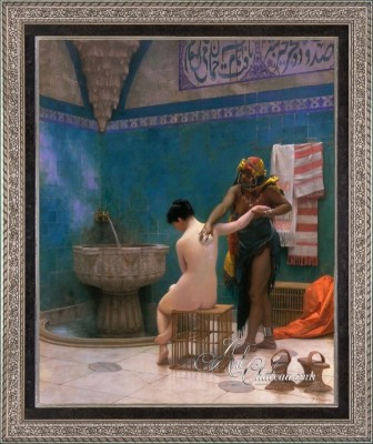 The Bath, after Jean-Leon Gerome
