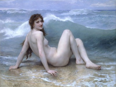 The Wave, c.1897, Oil on Canvas