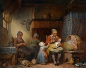 Family Life, c.1839, Oil on Canvas