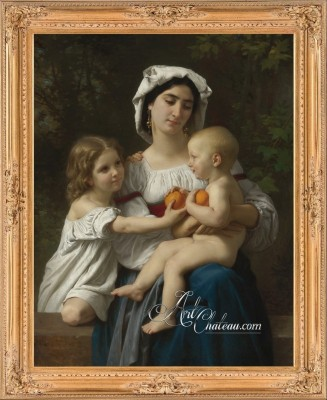 French Country Interiors, William Bouguereau