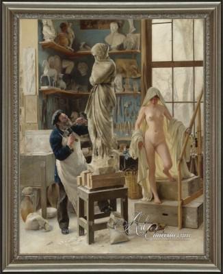 Traditional Interior Design, Edouard Dantan Painting