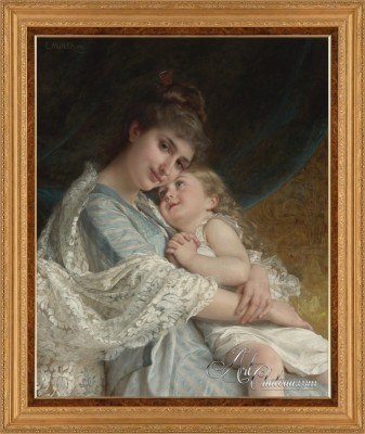 A Tender Embrace, after French artist Emile Munier