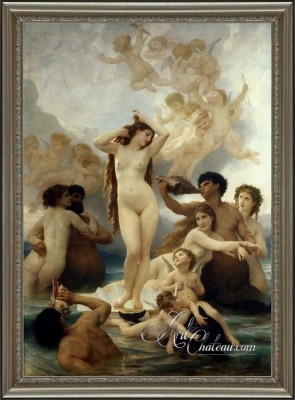 The Birth of Venus, after William Adolphe Bouguereau