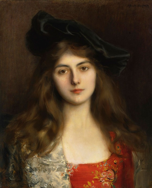 Portrait of a Young Woman, c.1885, Oil on Canvas