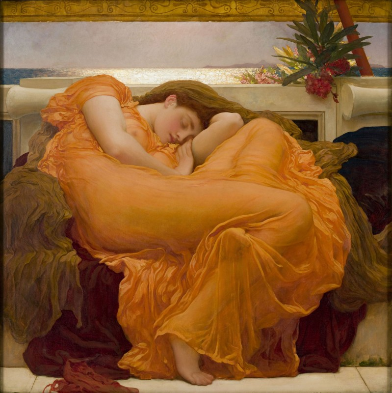 Flaming June, c.1895, Oil on Canvas