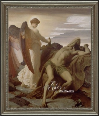 Elijah in the Wilderness, after Frederic Lord Leighton