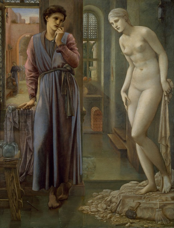 Pygmalion and the Image, c.1878, Oil on Canvas