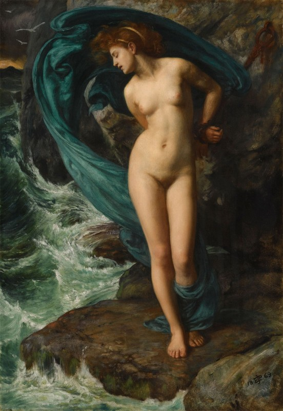 Andromeda, c.1869, Oil on Canvas