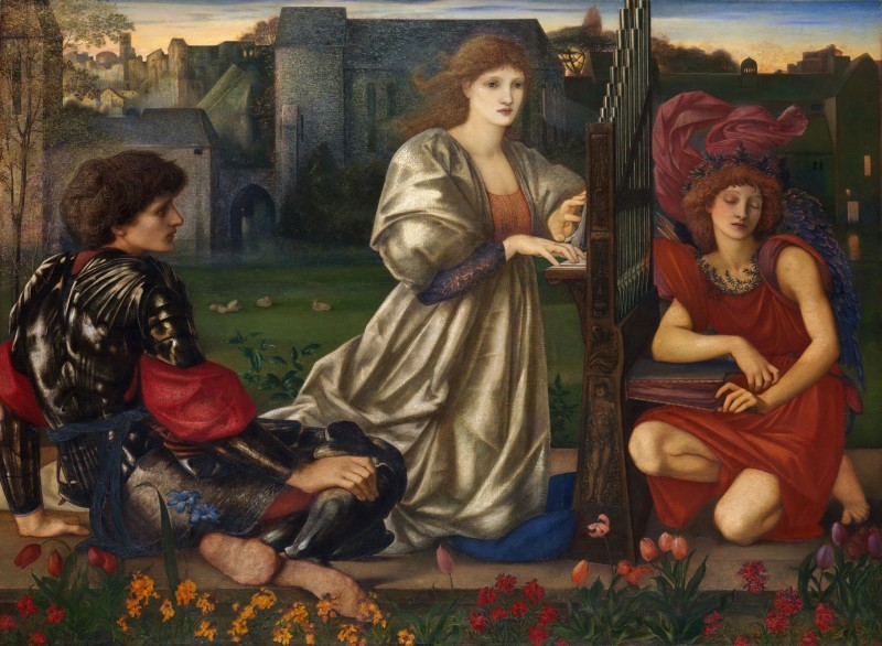 The Love Song, c.1870, Oil on Canvas
