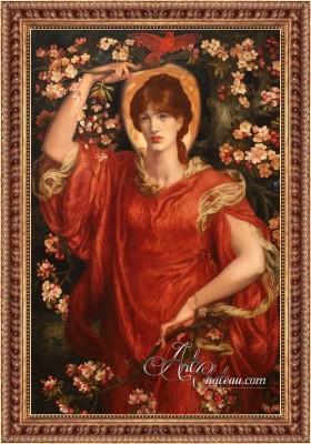 A Vision of Fiammetta, after Dante Gabriel Rossetti