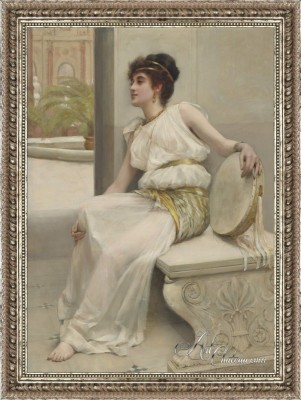 Zara a Dancing Girl, after Frank Markham Skipworth