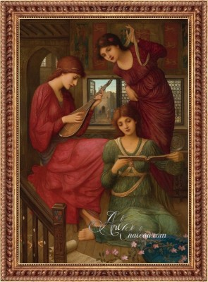 Pre-Raphaelite Painting, after John Melhuish Strudwick