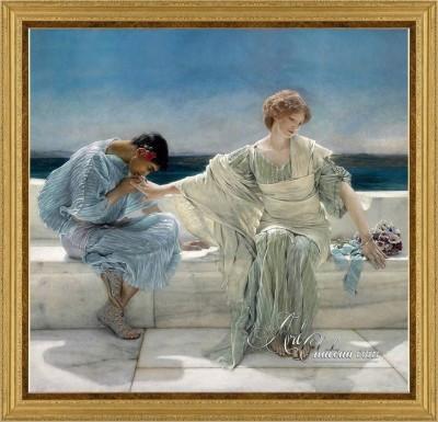 London Interior Design, Lawrence Alma Tadema Painting